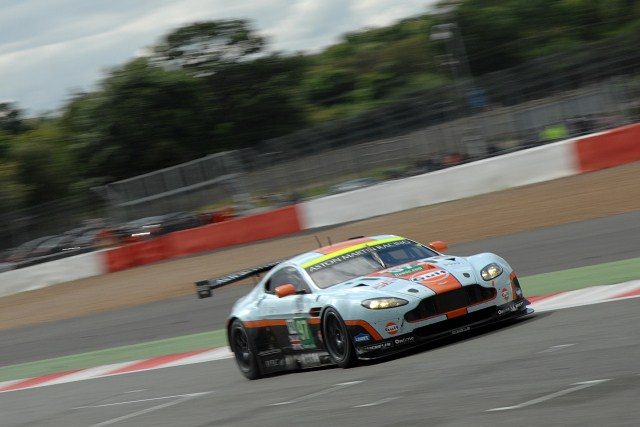 A last corner move by Stefan Mucke put AMR on the WEC podium (Photo Credit: Chris Gurton Photography)