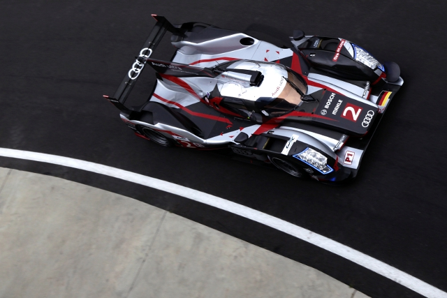 Tom Kristensen set the best time in the R18 ultra (Photo Credit: Audi Motorsport)