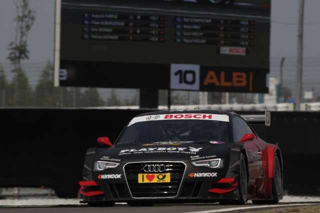Mortara shone in the sunshine at Nurburgring, can he and Audi repeat their form this weekend? (Photo Credit: Audi Motorsport)