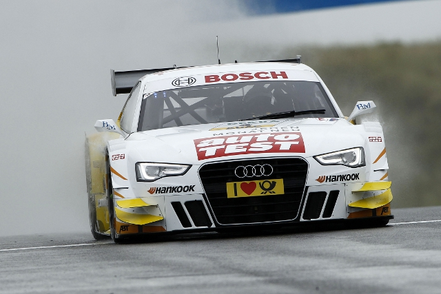 Time Scheider took pole as Audi swept the top five places (Photo Credit: DTM Media)