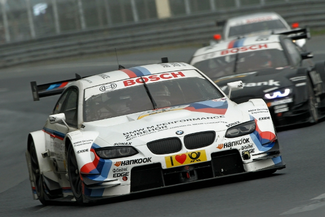 Martin Tomczyk leads Team RMG's DTM team on track (Photo Credit: DTM media)
