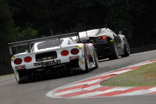 In a reversal of their Sunoco Challenge standings Morcillo follows Schulz at Brands Hatch (Photo Credit: Chris Gurton Photography)