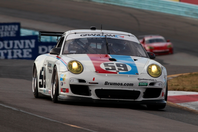 Brumos Racing led the Porsche cohort in third place in class (Photo Credit: Porsche)