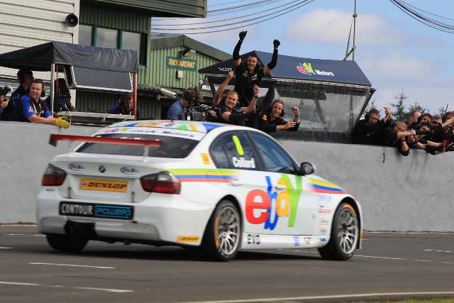 Rob Collard took a second win of the season after his Brands Hatch win (Photo Credit: btcc.net)