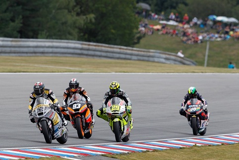 Moto2 action - Photo Credit: MotoGP.com