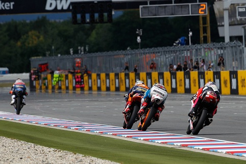 Moto3 action at Brno - Photo Credit: MotoGP.com