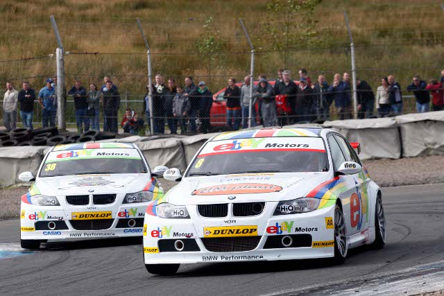 Collard led home Tom Onslow-Cole, just as in race one (Photo Credit: btcc.net)