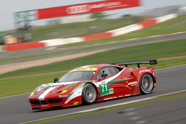 After disappointment at Le Mans, Matt Griffin won the class at Silverstone (Photo Credit: Chris Gurton Photography)