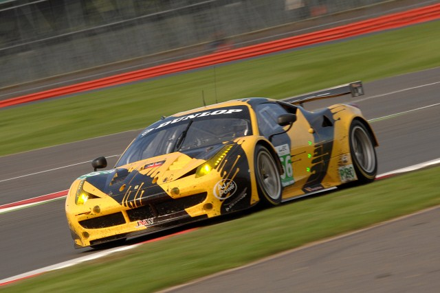 Walker and Cocker piloted the JMW Ferrari to second in class (Photo Credit: Chris Gurton Photography)