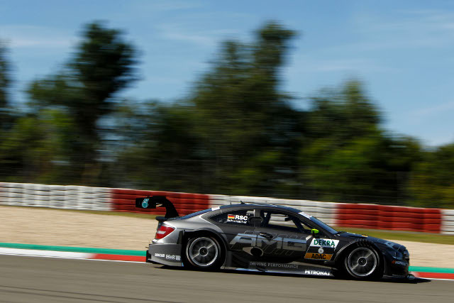 Mercedes lead the DTM championship through the gates of 'green hell' (Photo Credit: Daimler AG)