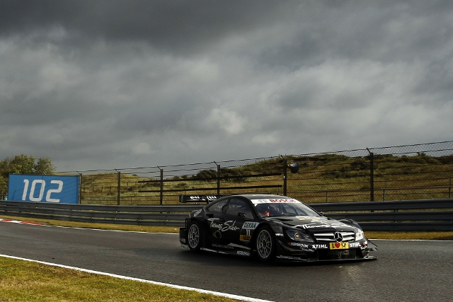 Gary Paffett, qualifying at Zandvoort (Photo Credit: DTM Media)