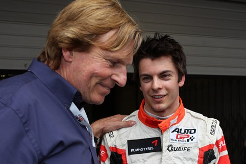 David Sears and Adrian Quaife-Hobbs - Photo Credit: Auto GP