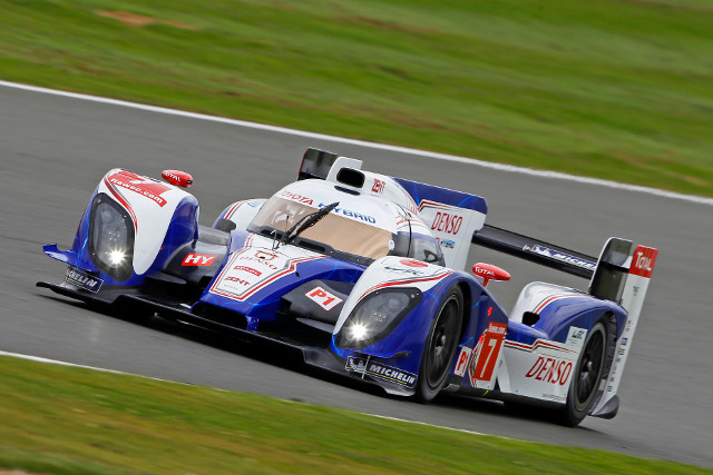 Toyota day at Silverstone was ended early by an electrical problem (Photo Credit: Jean Michel Le Meur)