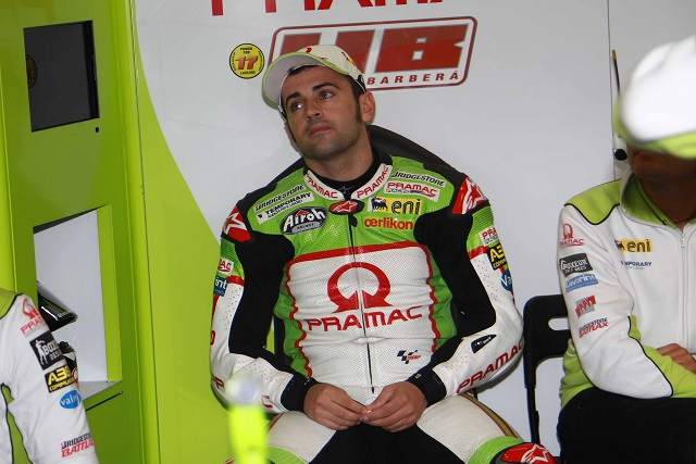 "Hector Barbera has ""apologised profusely"" for his part in the accident which took championship contender Dani Pedrosa out of Sunday's San Marino Grand Prix"