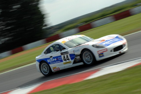 Piranha Motorsport represent the Britcar regulars in Class Four (Photo Credit: Chris Gurton Photography)