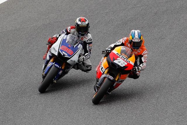 Jorge Lorenzo & Dani Pedrosa - Photo Credit: MotoGP.com