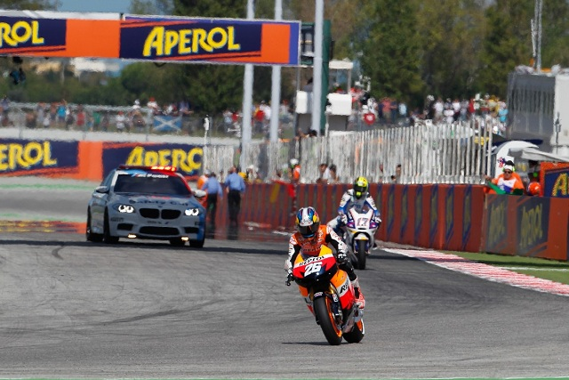 Dani Pedrosa believes the championship fight is still alive despite losing 25 points to Jorge Lorenzo at Misano