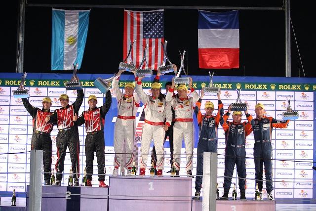 Pecom Racing podium Sao Paolo
