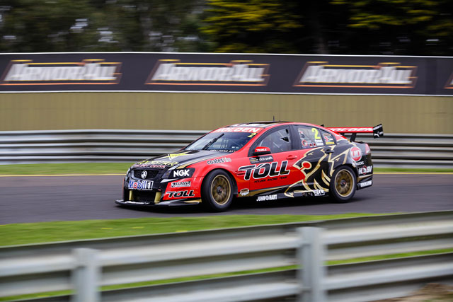 The #2 Holden Racing Team Commodore