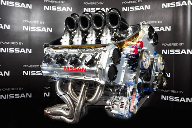 Nissan has unveiled the engine that's set to power its 2013 V8 Supercars Championship entry