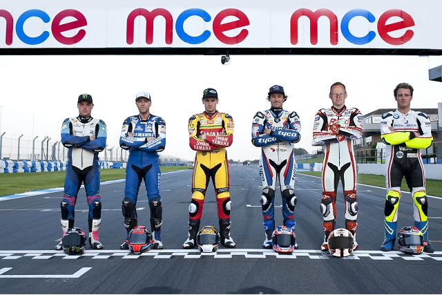 The six Title Fighters ahead of the Showdown - Photo Credit: Motorsport Vision