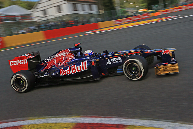Toro Rosso enjoyed their strongest result of the season at Spa today. It was the first time the Italian team had finished in the points since the second race of the year in Malaysia.