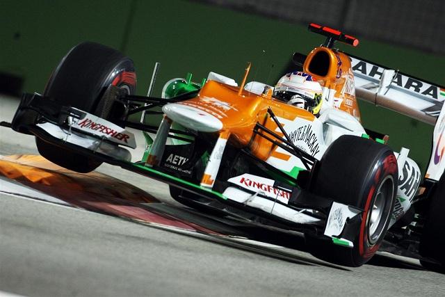 Paul Di Resta put in another tremendous qualifying performance to put his Force India on the third row for the Singapore Grand Prix although his teammate Nico Hulkenberg was disappointed not to join him in the top ten