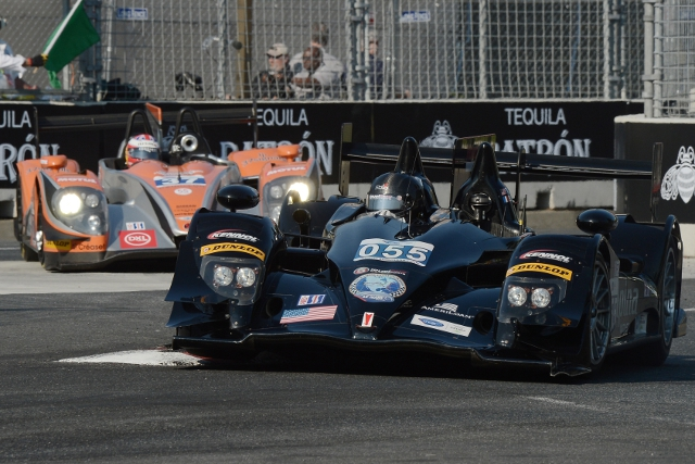 Level 5 beat Conquest Endurance both for overall and LMP2 class honours (Photo Credit: Eric Cechel)