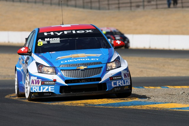 Alain Menu - Photo Credit: WTCC Media