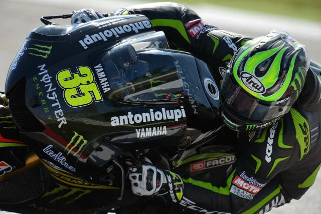 Cal Crutchlow paid tribute to his Monster Yamaha Tech 3 team after qualifying on the front row for the second race in succession