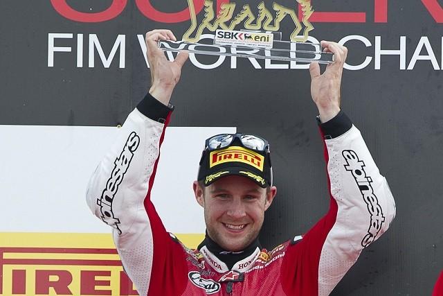 Jonathan Rea - Photo Credit: Honda Racing