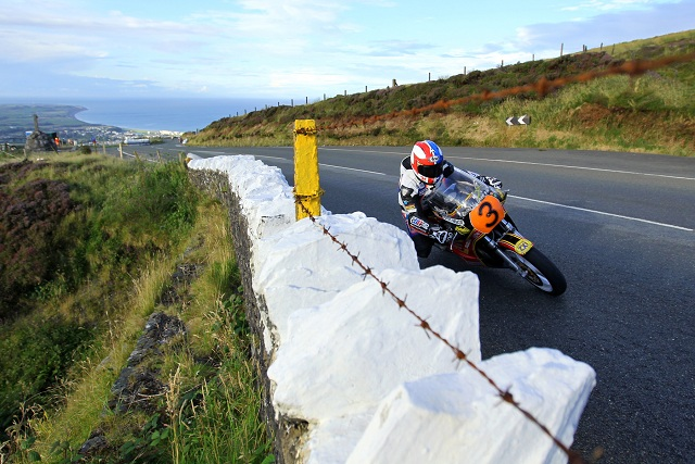 Russ Mountford at this year's Manx Grand Prix Festival - Photo Credit: Pacemaker