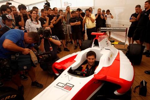 Mark Webber - Photo Credit: Alastair Staley/GP3 Series Media Service