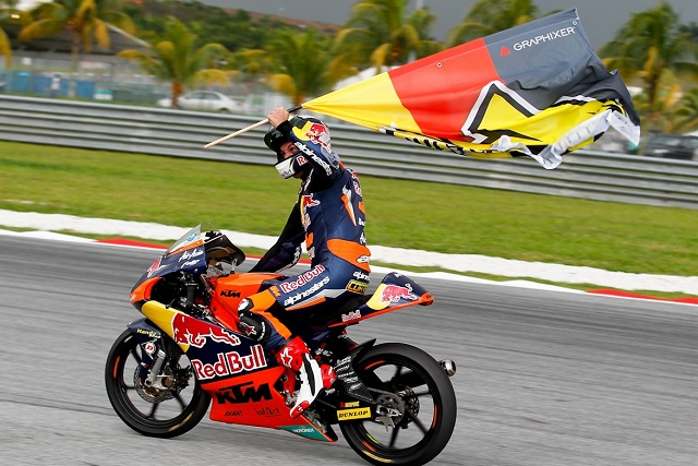 Sandro Cortese - Photo Credit: MotoGP.com