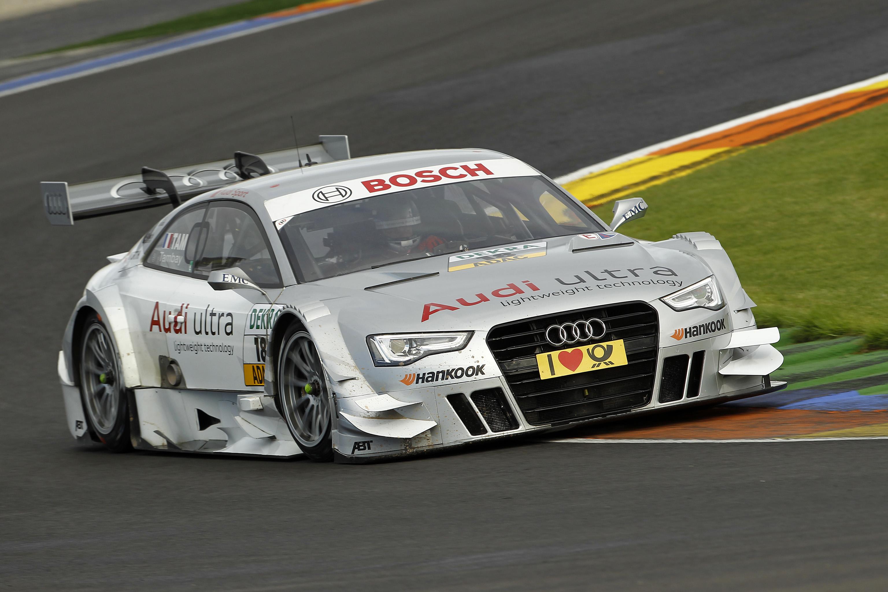 #18, Adrien Tambay (Audi Sport Team Abt, Audi ultra A5 DTM (2012))