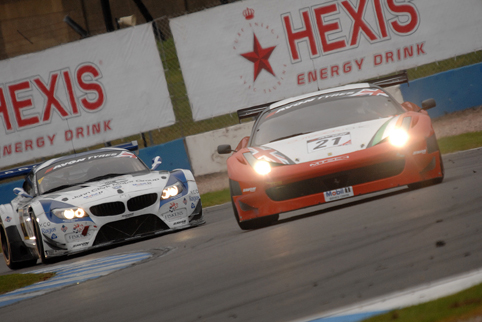 MTECH's title hopes were ended by the chasing BMW (Photo Credit: Chris Gurton Photography)