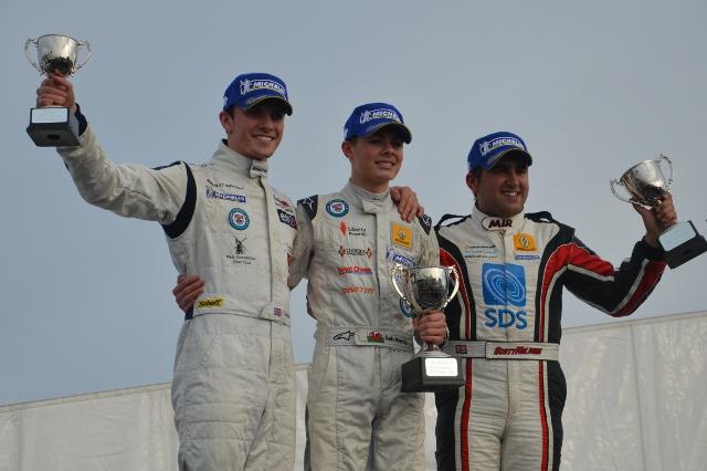 Formula Renault BARC 2012 Final Podium - Simon Paice