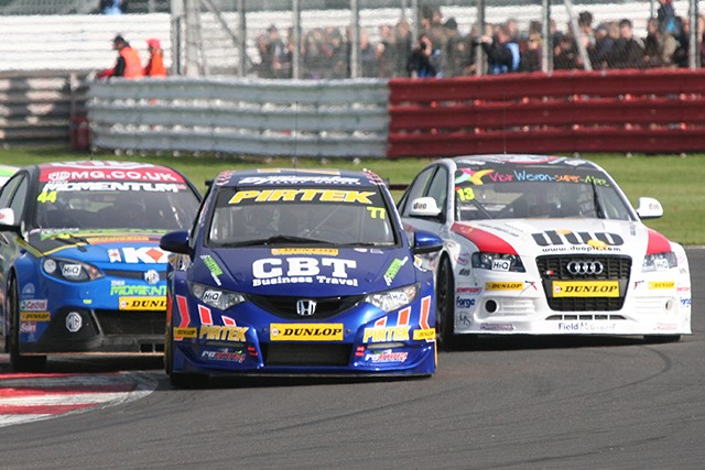 Andrew Jordan still leads the fight for the 2012 Dunlop MSA British Touring Car Championship Independents title despite his rival Rob Collard taking a big chunk out of his lead at Silverstone. While Jordan...