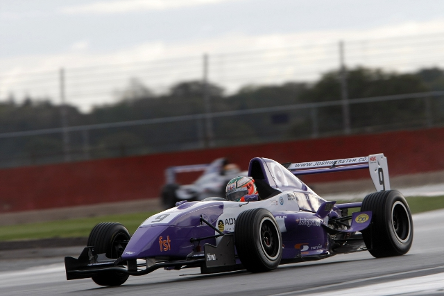 Josh Webster left Silverstone disappointed for a second season running after once again finishing runner-up in the Protyre Formula Renault BARC Championship. Heading to Silverstone fourteen points adrift of championship...
