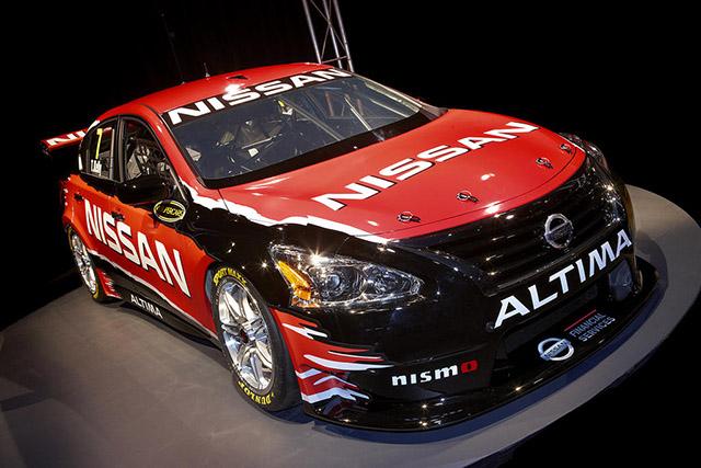 Nissan unveil its 2013 Altima V8 Supercar