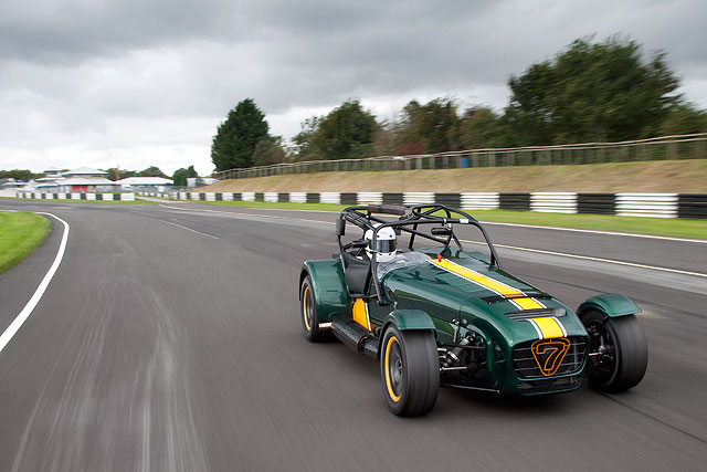 Caterham Unveils Supercharged R600 The Checkered Flag