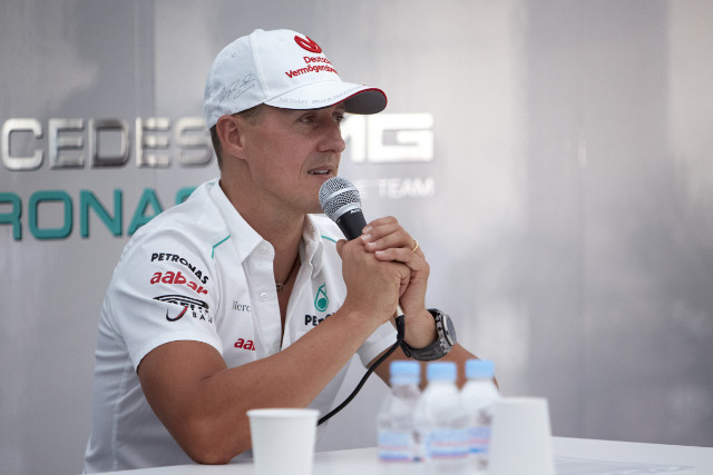 Schumacher Retires
