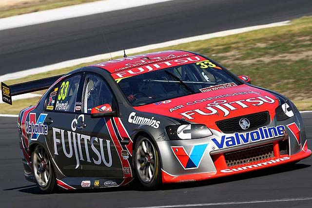 Greg Ritter will replace Alexandre Prémat in the #33 Fujitsu Racing GRM Commodore for the Armor All Gold Coast 600