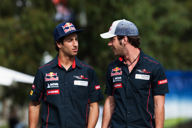 ​Toro Rosso​ will retain ​Daniel Ricciardo​ and ​Jean-Eric​ ​Vergne​ for the 2013 Formula 1 season, they have announced today.