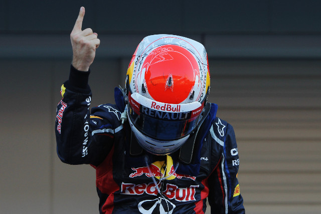 Sebastian Vettel took his third Japanese Grand Prix victory in four years today at Suzuka and edged himself closer to a third drivers' championship after Fernando Alonso retired on the opening lap of the race.