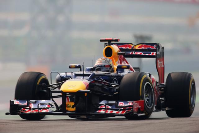 Vettel India 27Oct12