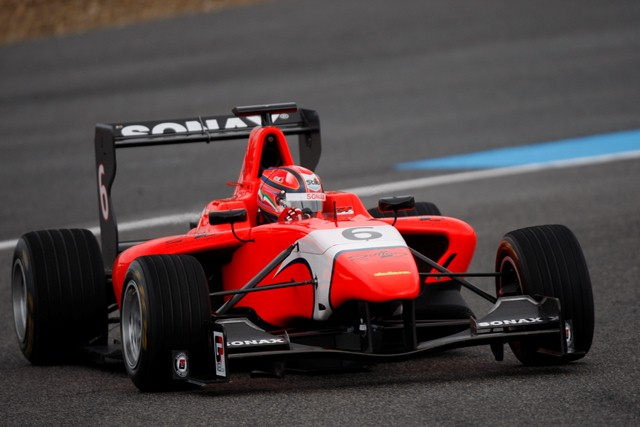 Kevin Ceccon - Photo Credit: Alastair Staley/GP3 Series Media Service