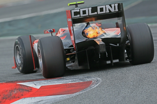 GP2 Series veteran Luca Filippi sat top of the timesheets on the first day of post-season testing at Barcelona's Circuit de Catalunya. The Italian was back in action with Scuderia...