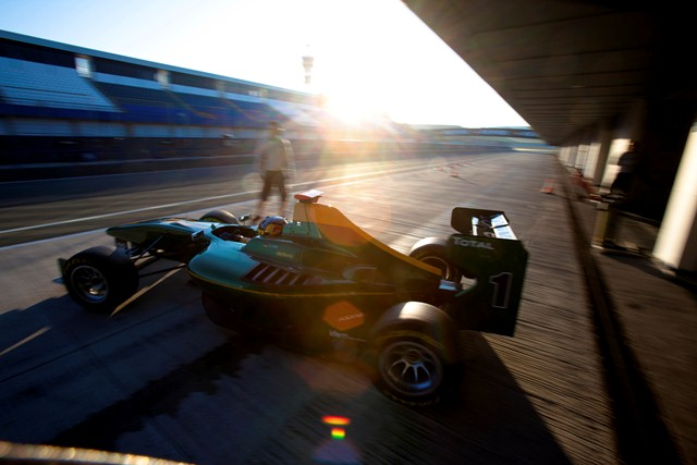 GP3 testing Jerez - Photo Credit: GP3 Media Service