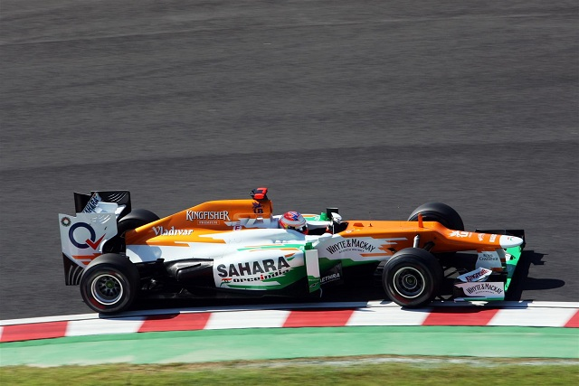 Force India drivers Paul Di Resta and Nico Hulkenberg will both start lower than expected in tomorrow's Japanese Grand Prix as their practice errors came back to haunt them